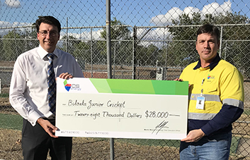 New Biloela cricket nets on the way for next summer