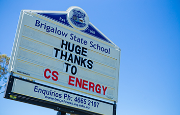CS Energy helps improve safety at Brigalow State School