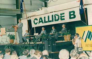 Celebrating 30 years of electricity generation at Callide B
