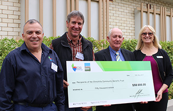 $50,000 in funding flows to local community projects