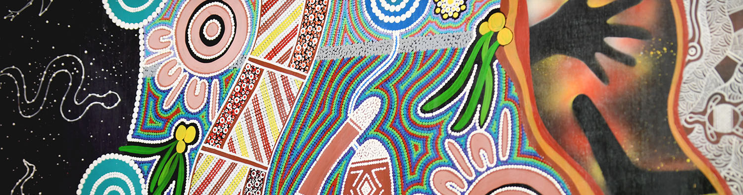 Indigenous artwork at Callide Power Station