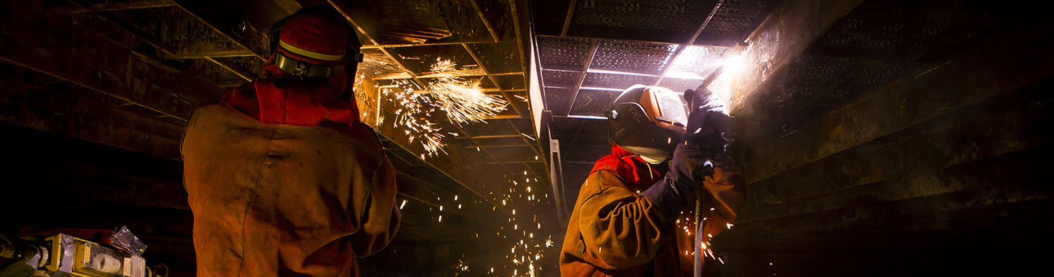 Welders at Kogan Creek