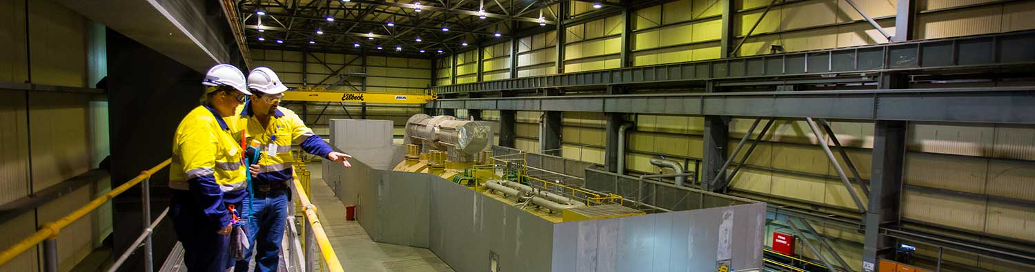 Kogan turbine hall